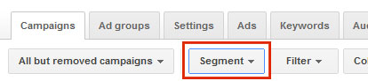 how to see search partner impressions in google adwords